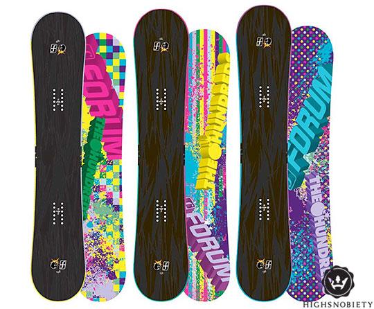 Ewolucja deski snowboardowej